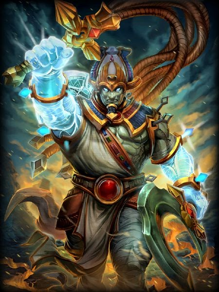 Smite Osiris