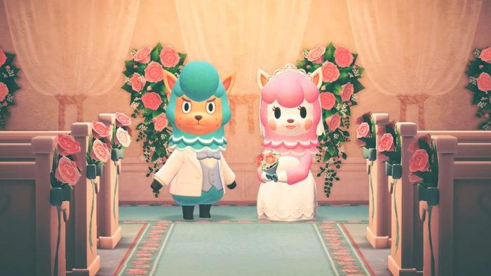 Saison de mariage Animal Crossing
