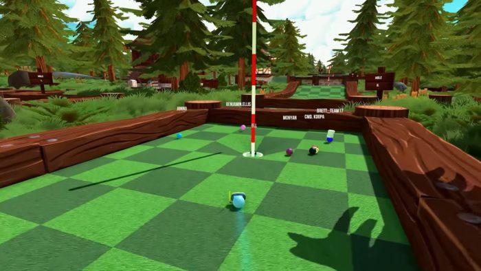 Jouez au golf avec vos amis