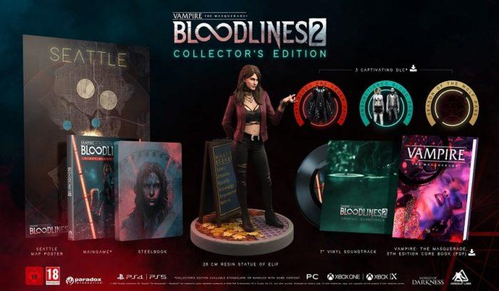 Vampire: The Masquerade - Bloodlines 2 Edition Collector