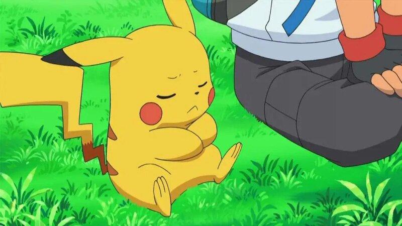 triste pikachu