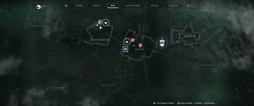 Siren's Watch A Map