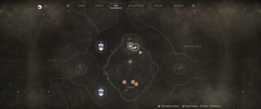 La carte du phare