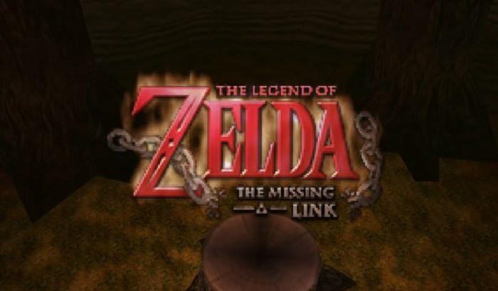 La légende de Zelda: le lien manquant