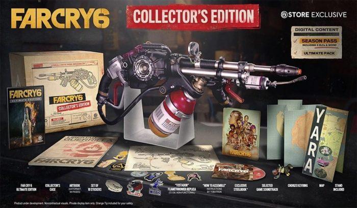 Édition Collector de Far Cry 6