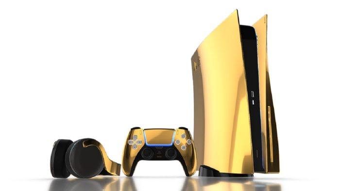 PS5 d'or