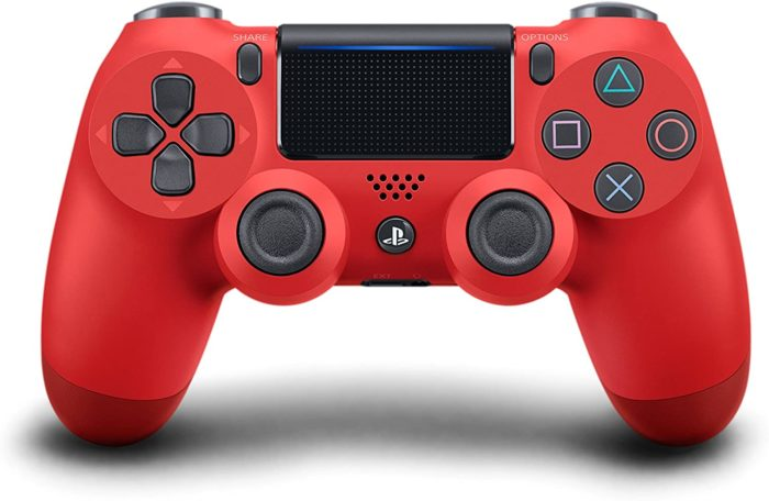 contrôleur dualshock 4 red magma