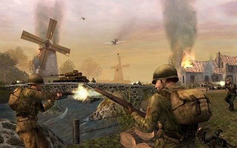"""Call of Duty 2: Big Red One 