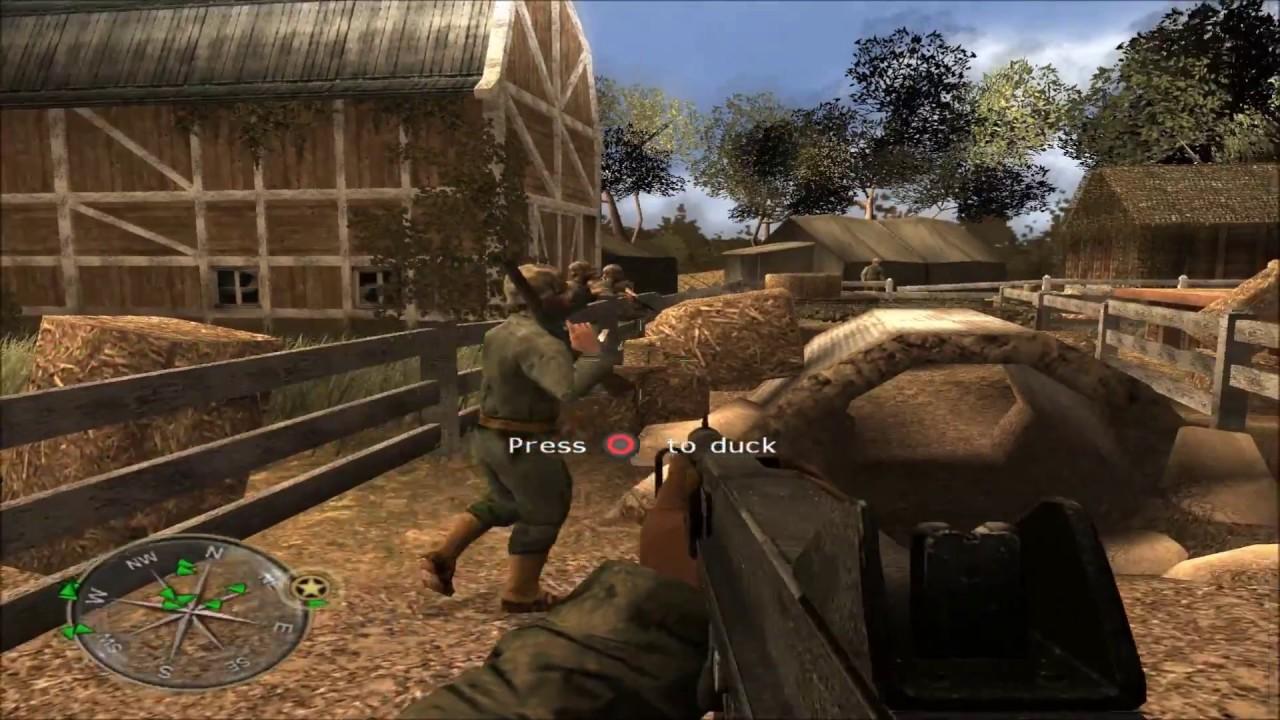 Call of Duty: World at War Final Fronts - Gameplay PCSX2 1080p ...