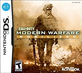 "Amazon.fr: Call of Duty: Modern Warfare: Mobilized - Nintendo DS ... ""width ="" 485 ""height ="" 434"