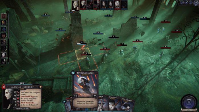 Bataille de Vampire Wars Immortal Realms