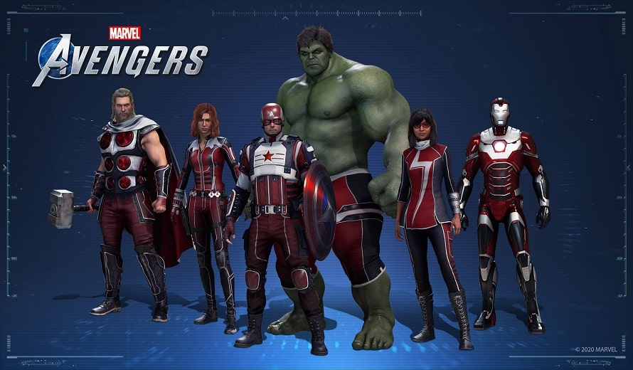 Contenu Avengers de Marvel