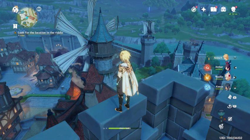 Moulin à vent des ruines arcadiennes