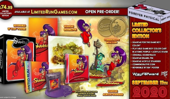 Édition Collector Shantae