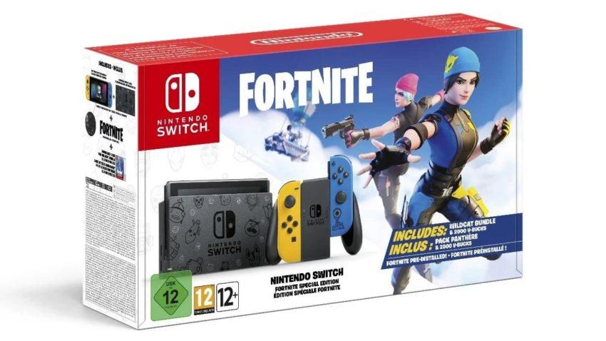 Nintendo Switch Édition Limitée Fortnite