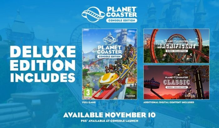 Planet Coaster: édition console