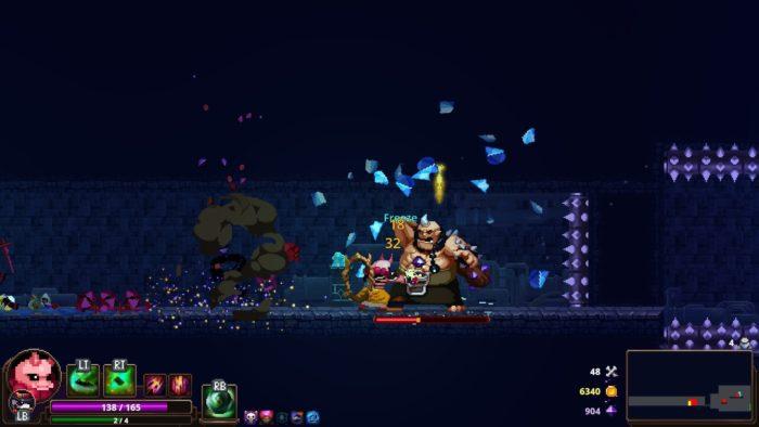 Capture d'écran de Skul the Hero Slayer