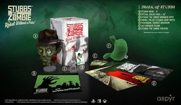 Édition Collector de Stubbs the Zombie