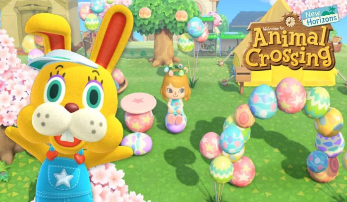 Art promotionnel Animal Crossing Bunny Day